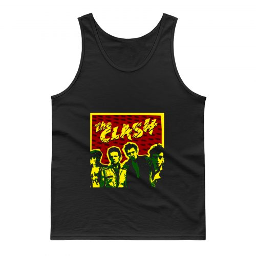 The Clash Band Personnel Tank Top