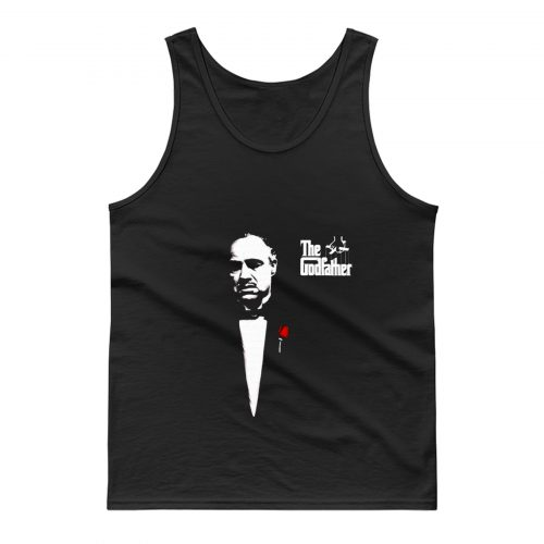 The Godfather 1972 Movie Don Corleone Long Sleeve Tank Top