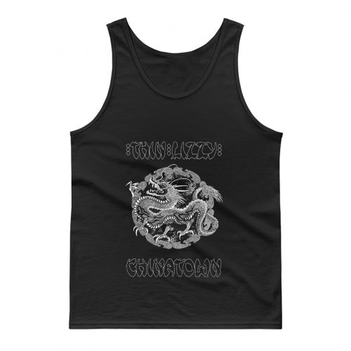 Thin Lizzy Chinatown Dragon Tank Top