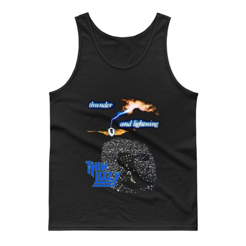 Thin Lizzy Thunder and Lightning Tank Top