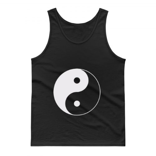 Yin And Yang Logo Tank Top