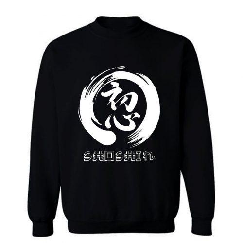 Zen Shoshin Insperational Sweatshirt