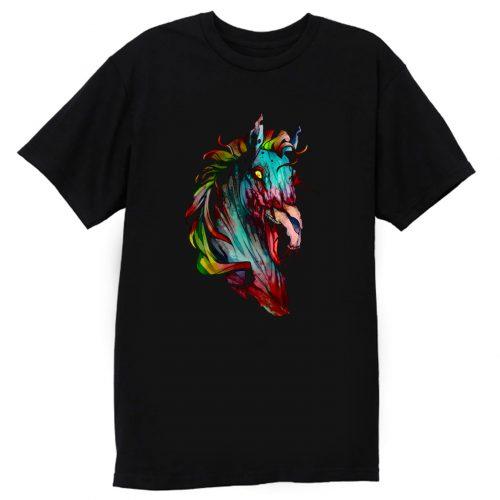 Zombie Horse New HORSE T Shirt
