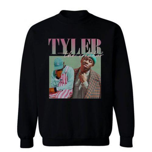 Tyler The Creator 90s Vintage Black Rapper Sweatshirt