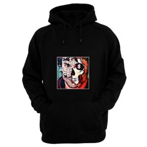 Will Graham Comic Style Puzzle Skull Hoodie