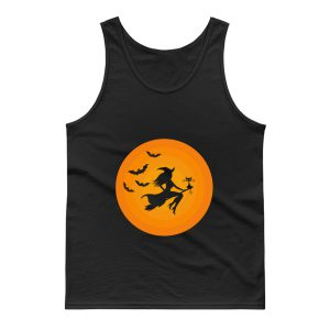 Witch On Broomstick Tank Top