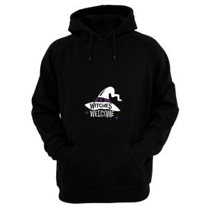 Witches Welcome Halloween Hoodie