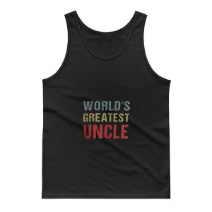 Worlds Greatest Uncle Tank Top