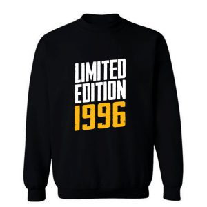 Year Of Birth Birthday Limited Edition 1996 Sweatshirt