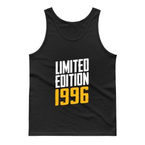 Year Of Birth Birthday Limited Edition 1996 Tank Top