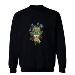 Zombie Head Sweatshirt