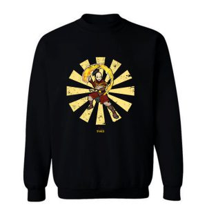 Zuko Retro Japanese Sweatshirt