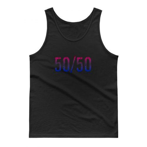 50 50 Bisexual Tank Top