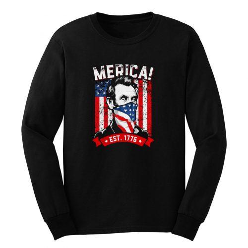 American Flag Murica 1776 Patriotic Long Sleeve