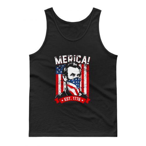 American Flag Murica 1776 Patriotic Tank Top