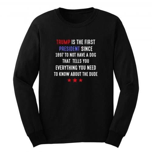 Anti Trump Election 2020 Long Sleeve