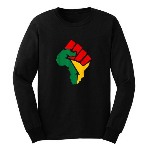 Black Lives Matter Africa Long Sleeve