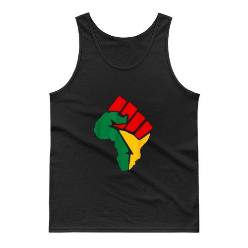 Black Lives Matter Africa Tank Top