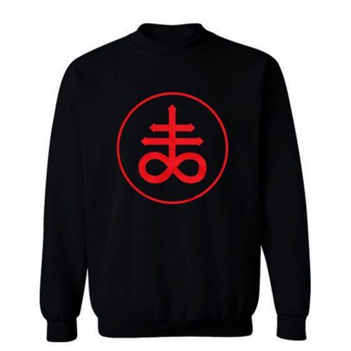 Brimstone Fire Element Sigil Symbol Sweatshirt