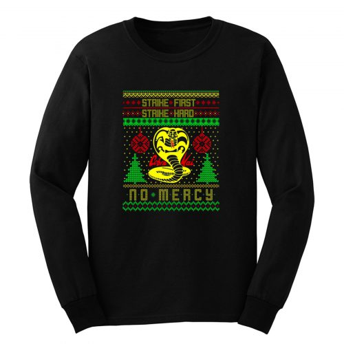 Cobra Kai Ugly Christmas Long Sleeve