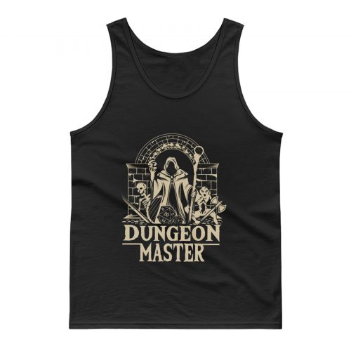 D D Dungeon Master Tank Top
