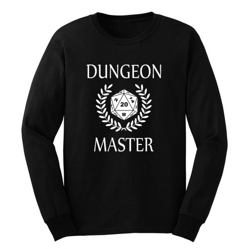 Dungeons And Dragons Master Long Sleeve