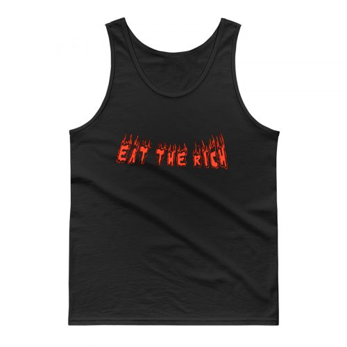 Eat The Rich 1 Tank Top