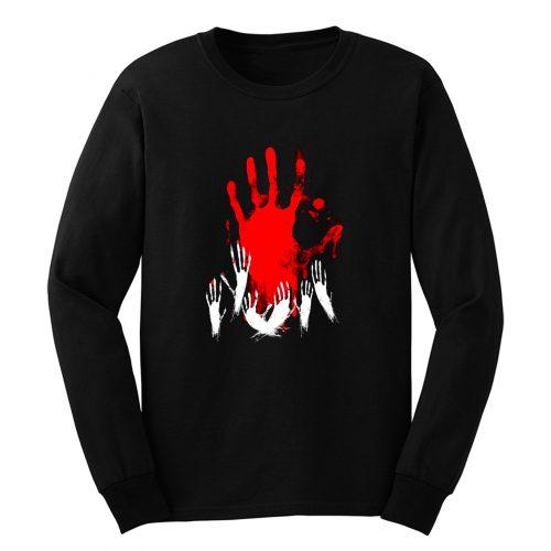 Elfen Lied Bloody Hand Long Sleeve
