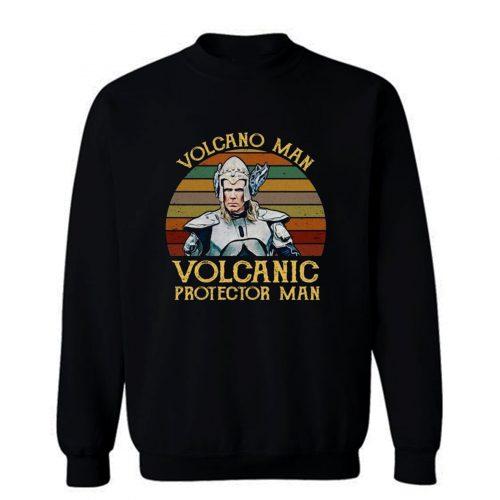 Euro Vision Volcanic Protector Man Volcano Fire Saga Jaja Ding Dong Contest Sweatshirt