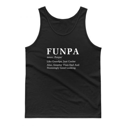 Funpa Noun Grandpa Grandfather Tank Top