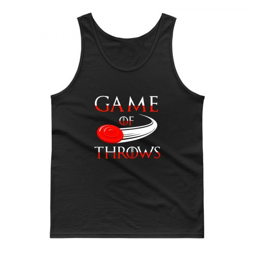 Game of Throws Ultimate Frisbee Tank Top