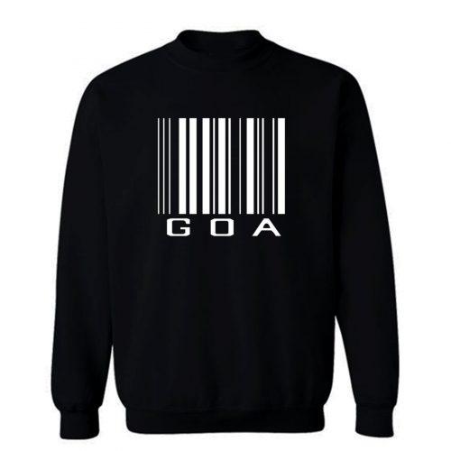 Goa Barcode Sweatshirt