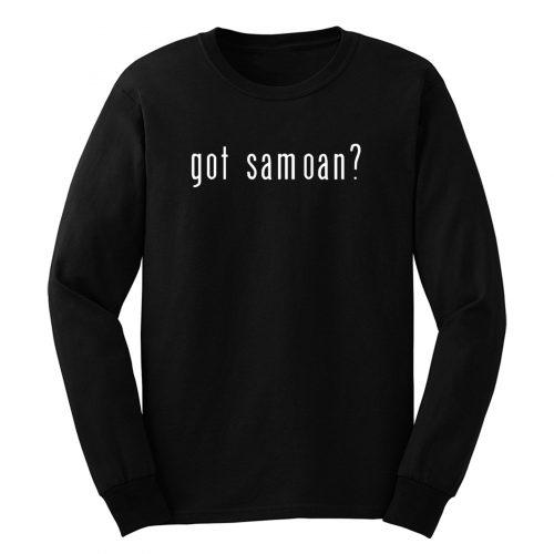 Got Samoan Long Sleeve