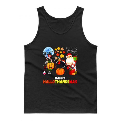 Happy Hallothanksmas Tank Top