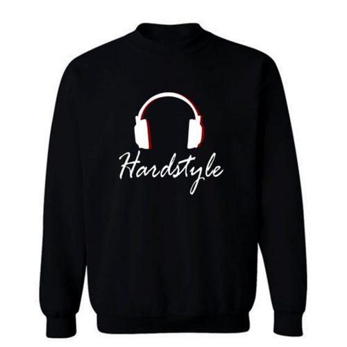 Hardstyle Headphones Sweatshirt