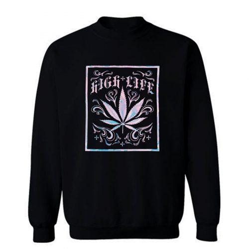 High Life Graphic Sweatshirt