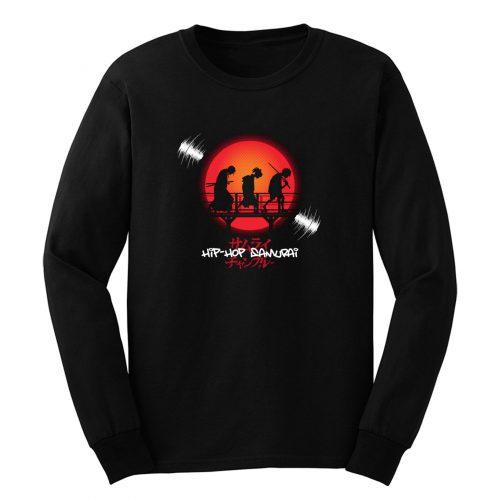Hip Hop Samurai Long Sleeve