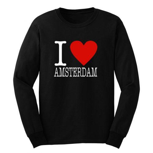 I Love Amsterdam Classic Long Sleeve