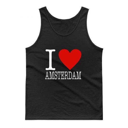 I Love Amsterdam Classic Tank Top