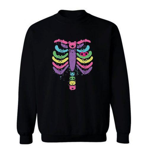 Kawaii Bear Bones Sweatshirt