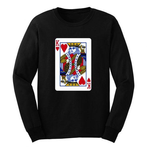 King Of Hearts Long Sleeve