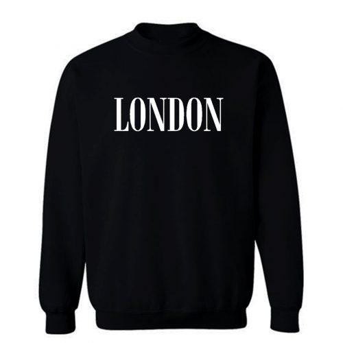 London Tee Sweatshirt