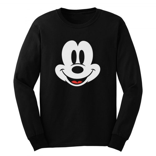 Mickey Mouse Smile Long Sleeve
