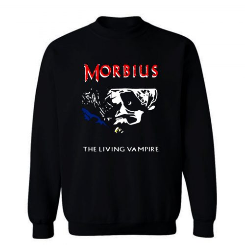 Morbius The Living Vampire Sweatshirt