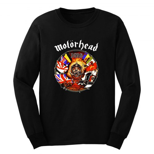 Motorhead Lemmy Kilmister Long Sleeve