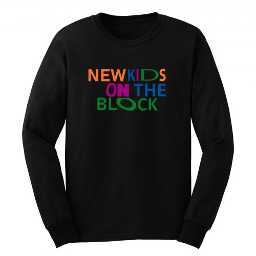 New Kids On The Block Long Sleeve