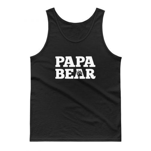 Papa Bear Tank Top