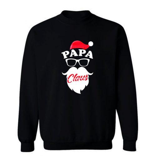 Papa Claus Grandpa Xmas Sweatshirt