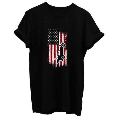 RC Cars American Flag T Shirt
