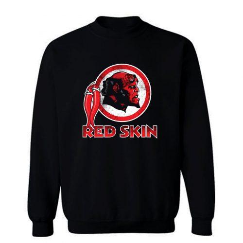 Red Skin Sweatshirt